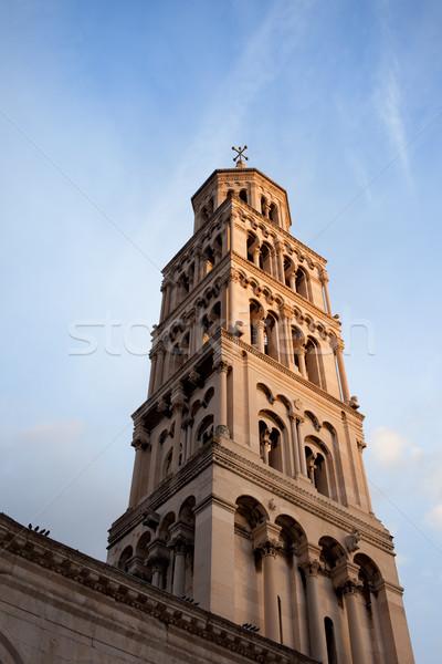Bell Tower in Split Stock photo © rognar
