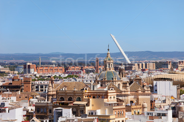 City of Seville in Andalusia Stock photo © rognar