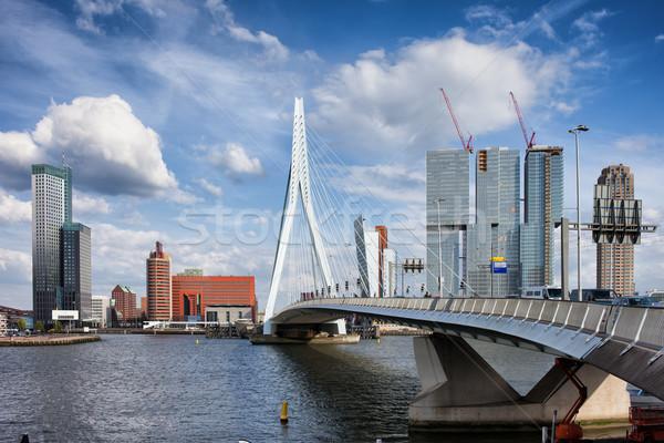 Stock photo: City of Rotterdam Skyline in Netherlands