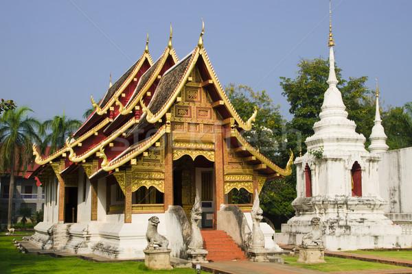 Chiang Mai Buddhist Temple Stock photo © rognar