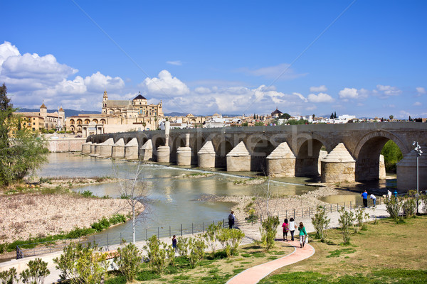 Stock photo: Roman Bridge in Cordoba