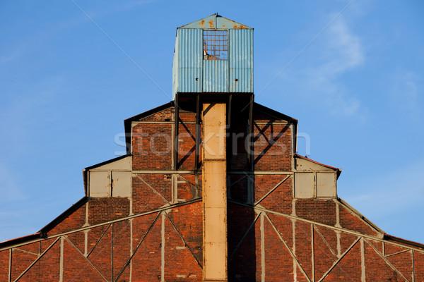 捨てられた 工場 アーキテクチャ 古い 産業 建物 ストックフォト © rognar