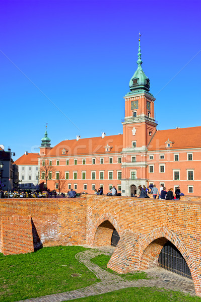 Royal Castle in Warsaw Stock photo © rognar