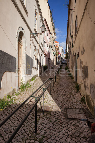 Uphill in Lisbon Stock photo © rognar