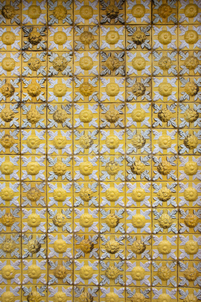 Vintage Ceramic Tiles Background Stock photo © rognar