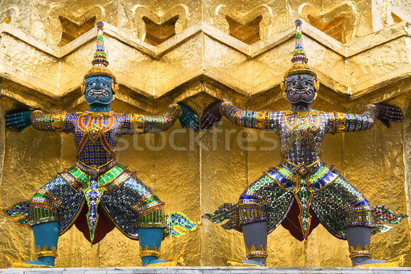 опекун искусства внутри дворец Бангкок Таиланд Сток-фото © rognar