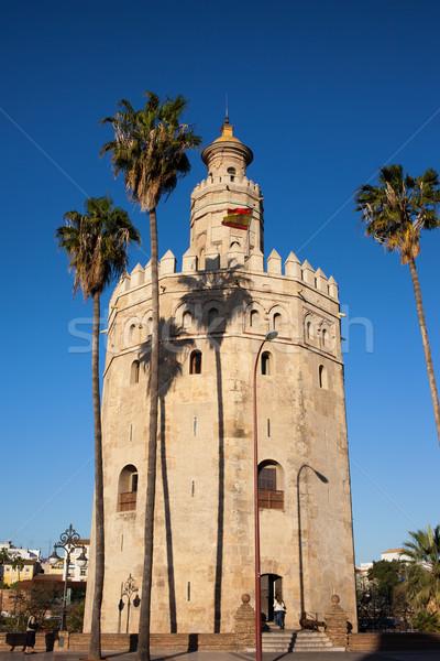 Stock photo: Torre del Oro in Sevilla