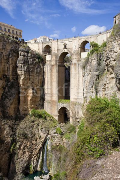 ストックフォト: 新しい · 橋 · スペイン語 · 18世紀 · 建物