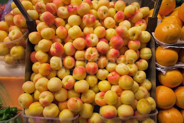 Peaches Stall Stock photo © rognar