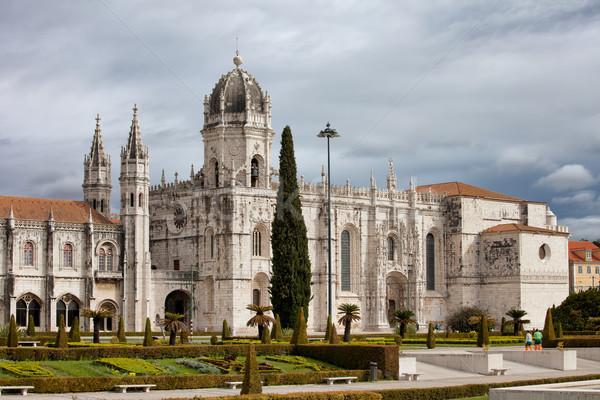 Jeronimos Monastery in Lisbon Portugal Stock photo © rognar