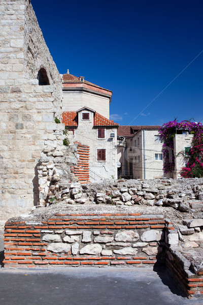 Split Old Town Ruins Stock photo © rognar
