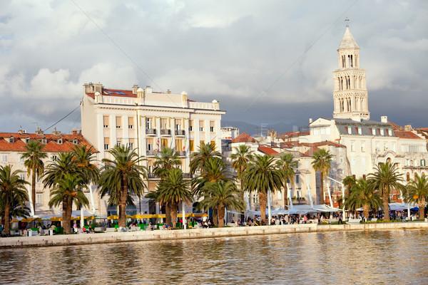 Split Waterfront Stock photo © rognar