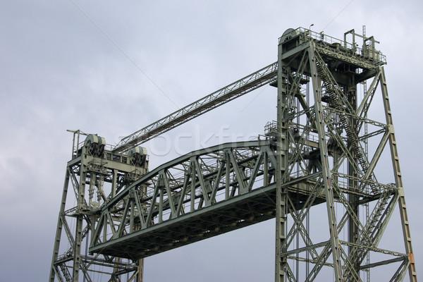 Asansör köprü rotterdam demiryolu mühendis güney Stok fotoğraf © rognar