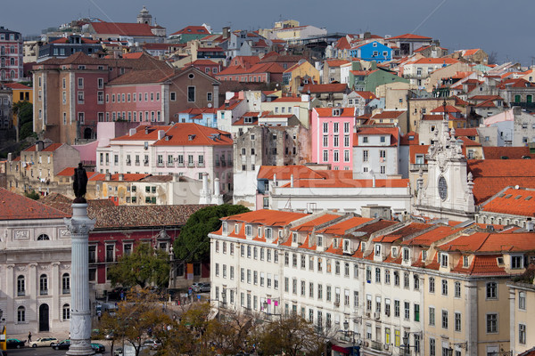Picturesque Old City of Lisbon Stock photo © rognar