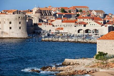 Дубровник старые город морем Хорватия юг Сток-фото © rognar