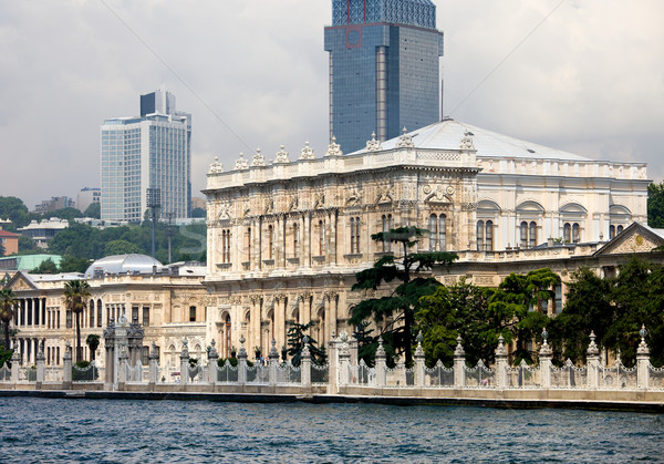 Dolmabahce Palace in Istanbul Stock photo © rognar