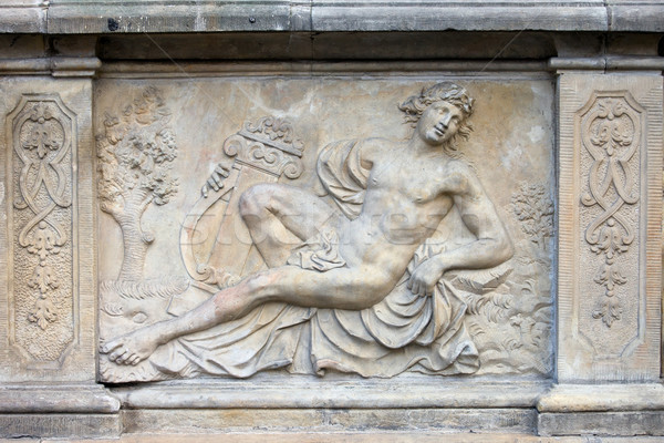 Apollo Relief in Gdansk Stock photo © rognar