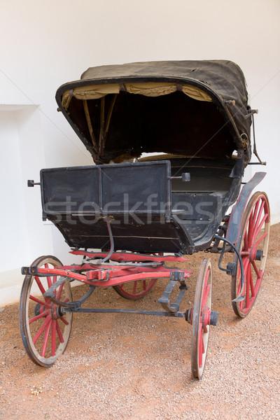 Antique Spanish Horse Carriage Stock photo © rognar