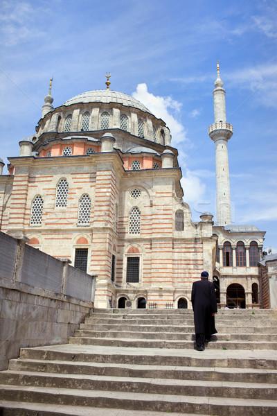 Tulip Mosque in Istanbul Stock photo © rognar