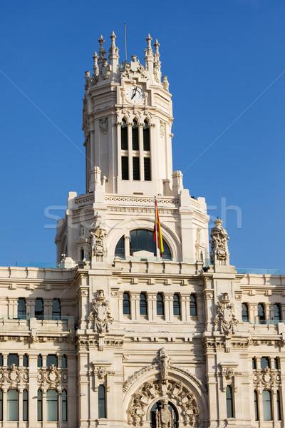 Madri arquitetônico detalhes cidade Espanha rua Foto stock © rognar