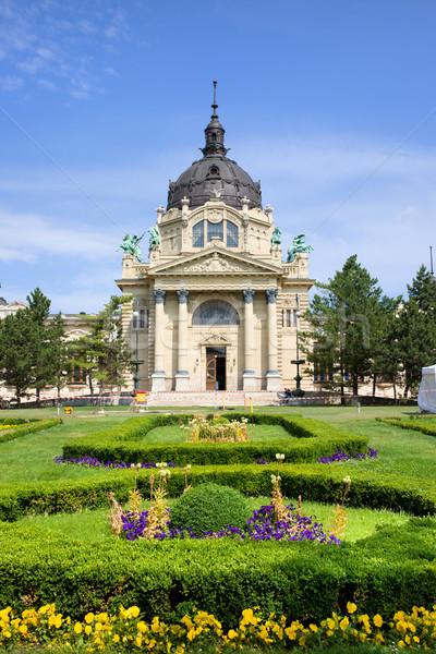 Stok fotoğraf: Budapeşte · spa · barok · mimari · Macaristan