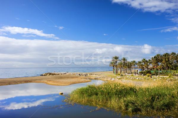 Costa del Sol in Spain Stock photo © rognar
