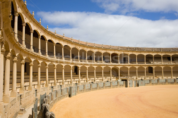 Ronda Bullring in Spain Stock photo © rognar
