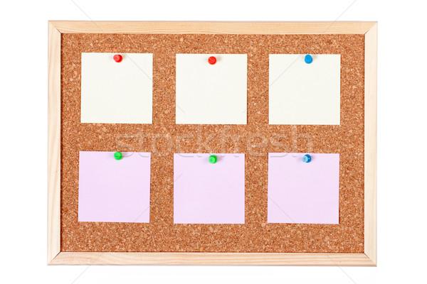 Empty Bulletin Board Stock photo © rognar