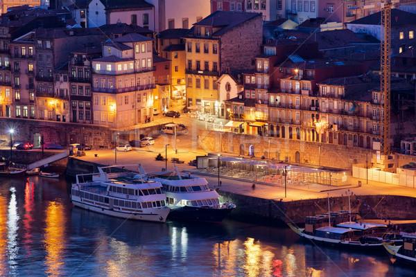 1泊 ポルトガル 住宅 クルーズ ボート 川 ストックフォト © rognar