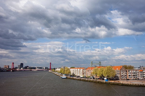 Rotterdam Cityscape in Netherlands Stock photo © rognar