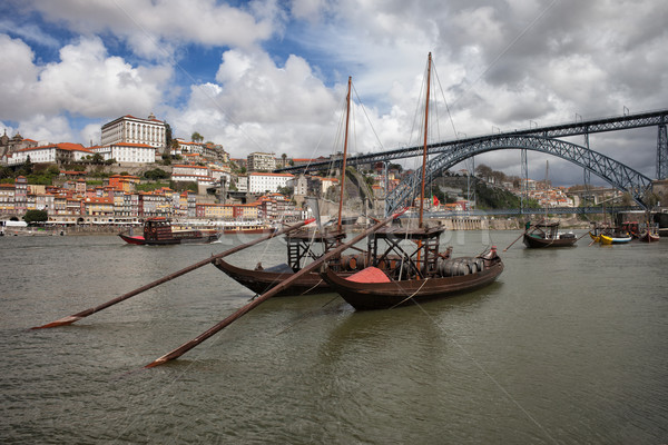 Picturesque Old City of Porto in Portugal Stock photo © rognar