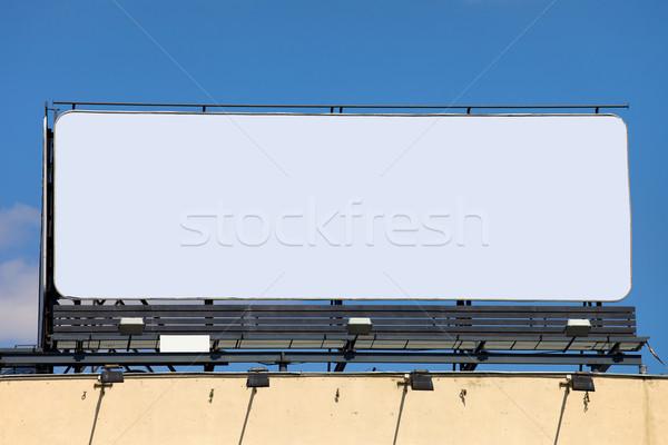 Large Blank Billboard Stock photo © rognar