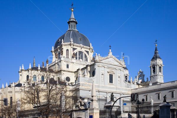 大聖堂 マドリード ロイヤル ラ スペイン ストックフォト © rognar
