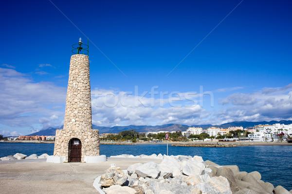 Puerto Banus Lighthouse Stock photo © rognar