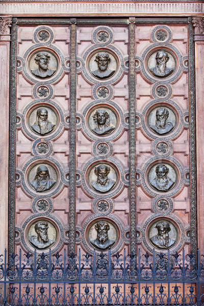 St Stephen's Basilica Main Door Stock photo © rognar
