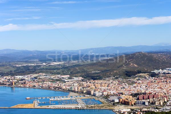 LA Spanyolország város felülnézet déli Andalúzia Stock fotó © rognar