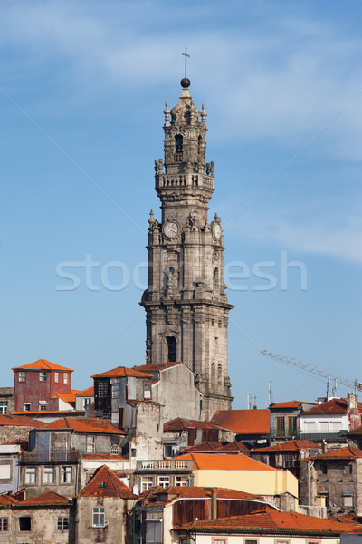 Clerigos Church Tower in Porto Stock photo © rognar