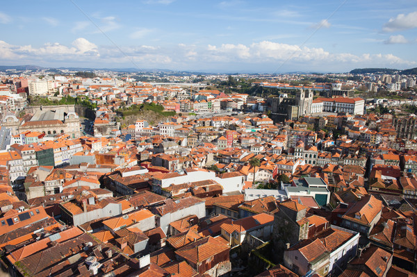 View Over City of Oporto in Portugal Stock photo © rognar