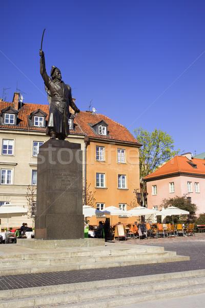 Jan Kilinski Statue Stock photo © rognar
