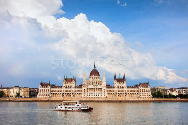 Budapest Parliament Building Stock photo © rognar