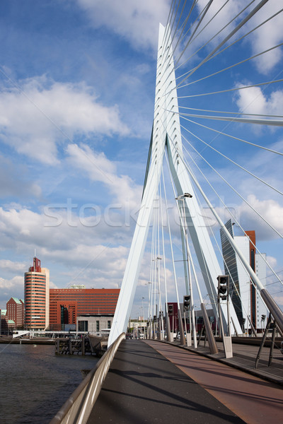 Stock photo: Erasmus Bridge in Rotterdam
