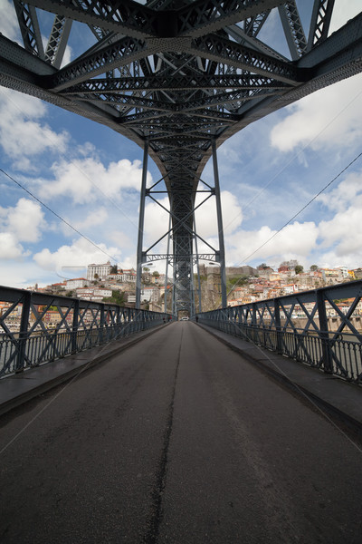 Ponte Luiz I Bridge in Porto Stock photo © rognar