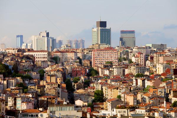 Istanbul Cityscape Stock photo © rognar