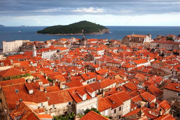Foto d'archivio: Dubrovnik · vecchio · città · isola · mare · Croazia