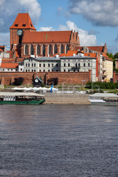 City of Torun Old Town Skyline Stock photo © rognar