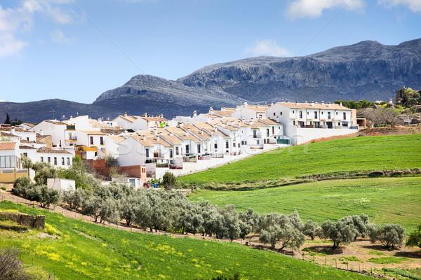 Real Estate Development in Ronda Stock photo © rognar