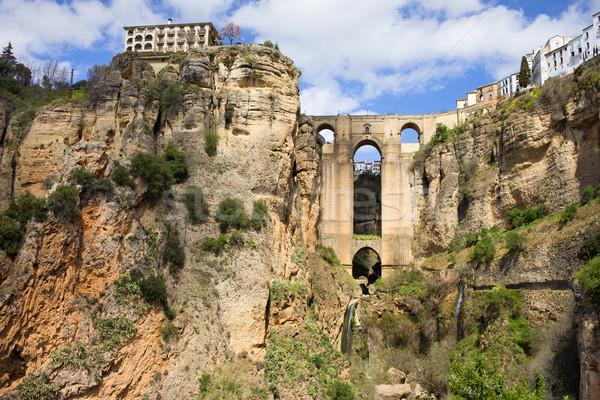 ストックフォト: 橋 · 新しい · スペイン語 · 18世紀 · 自然