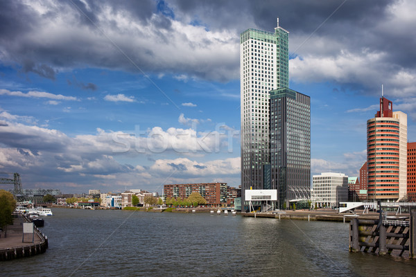 City of Rotterdam in Netherlands Stock photo © rognar