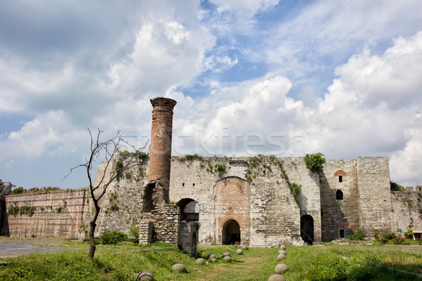 Yedikule Castle in Istanbul Stock photo © rognar