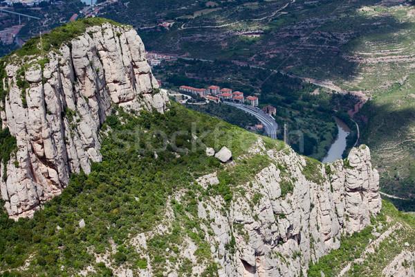 Montserrat Mountain Stock photo © rognar